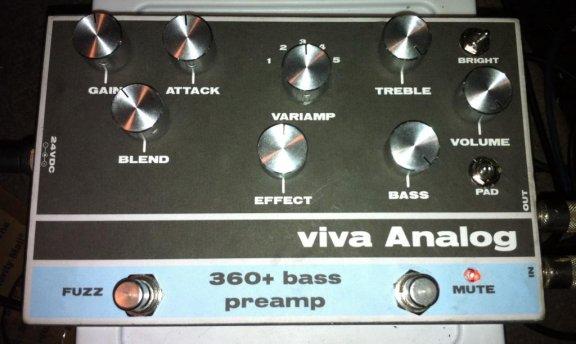 Viva Analog 360 Bass Preamp Kit Build